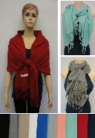 Pashmina with Fringe [Solid Color] Super Soft